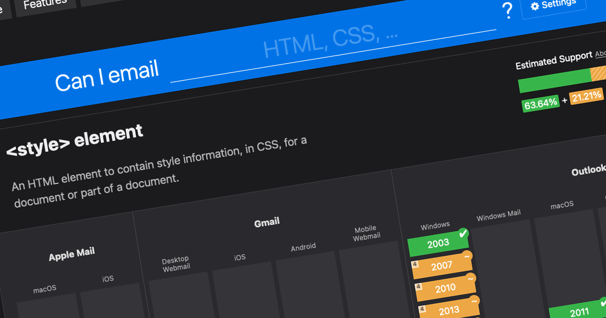 Can I email…